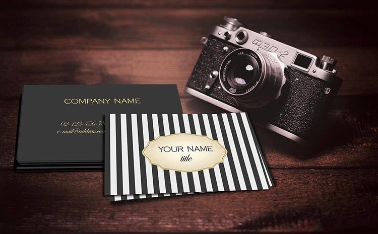 Mockup business card angela pranarova graphic designer mockup2 reheart Choice Image